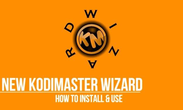 KODIMASTER WIZARD UPDATED – BEST KODI BUILDS
