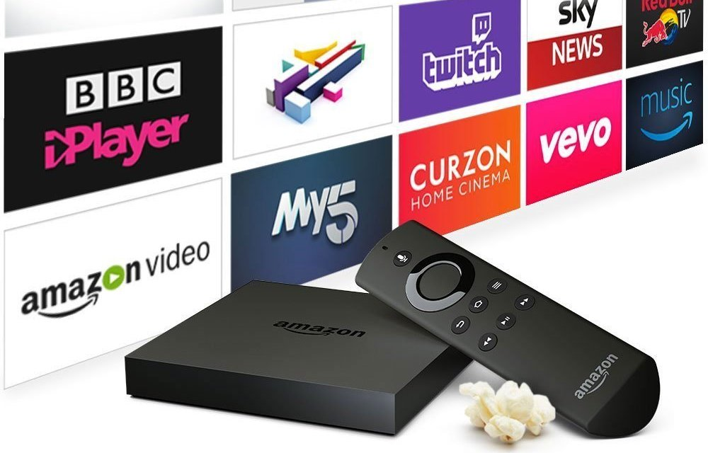 Amazon Fire TV 4K Ultra HD Media Player