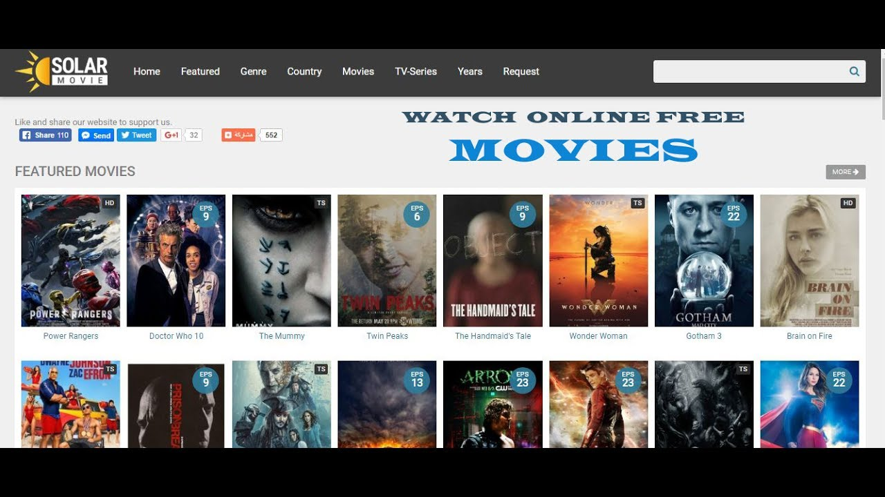 Top 10 Sites Like SolarMovie You Must Try for Watching Movies