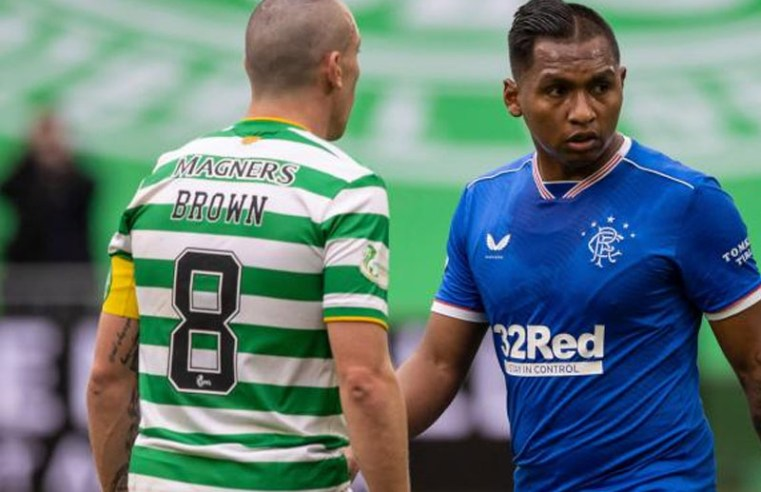 Rangers star Alfredo Morelos in sly dig to Celtic captain Scott Brown after Old Firm victory