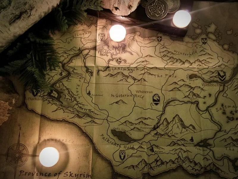 Bethesda teases 'the future' of The Elder Scrolls in festive tweet, sends fans into Sherlock mode