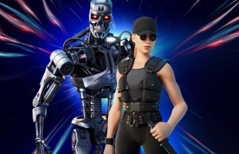 Terminator's Sarah Connor and T-800 are live now in Fortnite