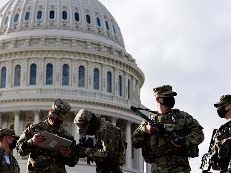 FBI Examines National Guard Troops Amid Fears of Insider Attack During Biden Inauguration