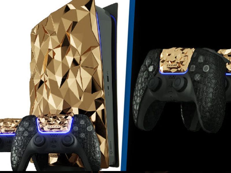 Russian Company Is Selling Gold-Plated PlayStation 5 Worth Nearly $1 Million