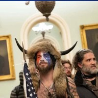 'QAnon Shaman' Capitol rioter wants pardon from President Trump