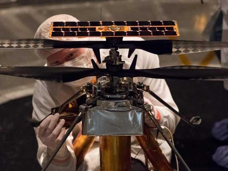 Linux flies on Mars onboard Snapdragon-powered Ingenuity drone