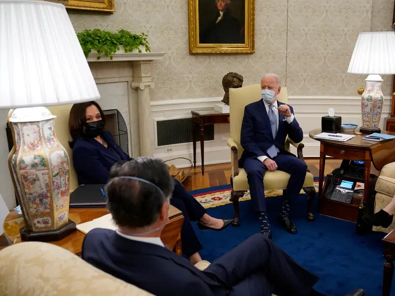 Biden tries to show US as democracy beacon post-Capitol riot