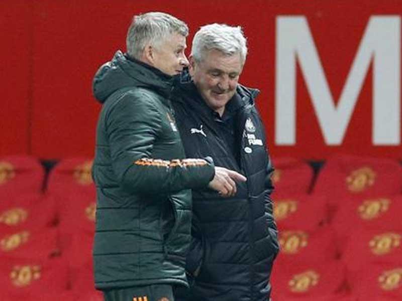 Manchester United boss Ole Gunnar Solskjaer still has Manchester City in his sights