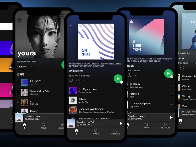 Spotify launches service in South Korea