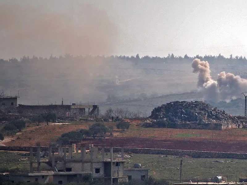 Syria regime bombs Idlib, breaching de-escalation deal