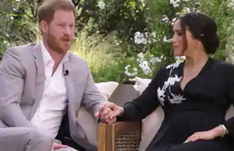 Prince Harry tells Oprah his 'biggest fear was history repeating itself' in reference to Diana's death