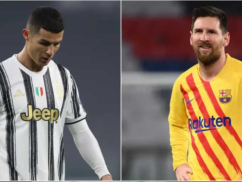 Lionel Messi and Cristiano Ronaldo will miss the Champions League quarterfinals for the first time in 16 years
