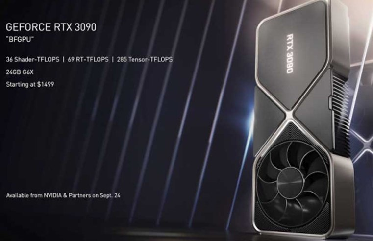 The purported 20GB RTX 3080 Ti may be scrapped, Nvidia repurposing to RTX 3090