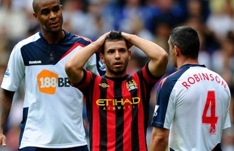 Sergio Aguero and the Bolton Wanderers stat that emphasises his Manchester City success