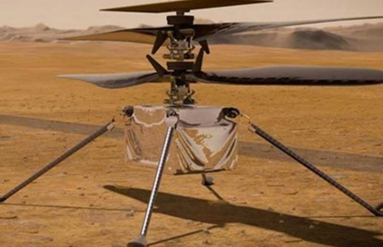 NASA's Ingenuity Helicopter Dropped on Mars' Surface Ahead of Flight