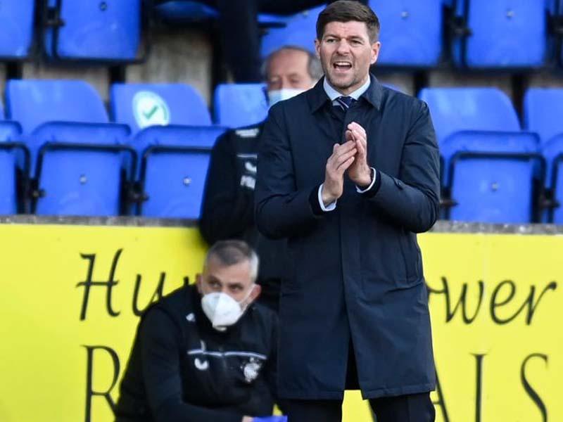 Steven Gerrard brands Rangers 'lucky' as he delivers honest verdict on St Johnstone penalty calls