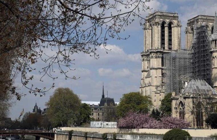 Macron visiting Notre Dame two years after devastating blaze