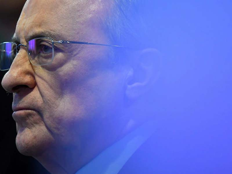 Florentino Perez insists Super League contract is 'binding' as he plays down threat of bans