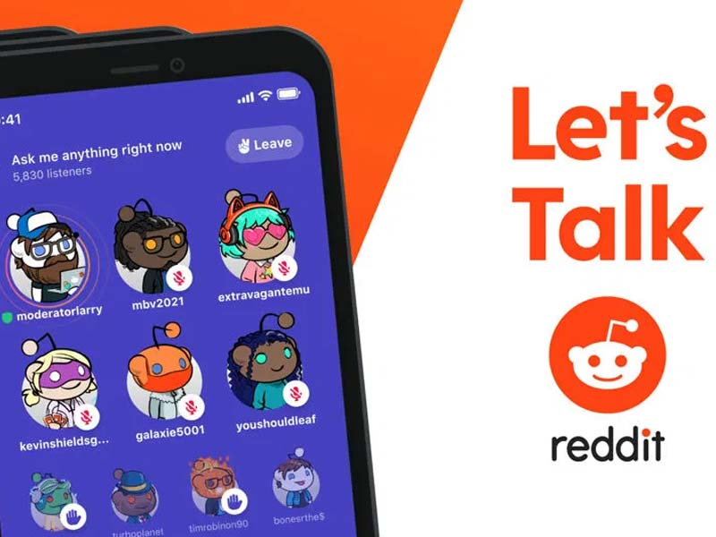 Reddit Just Launched Their Own Version Of Clubhouse