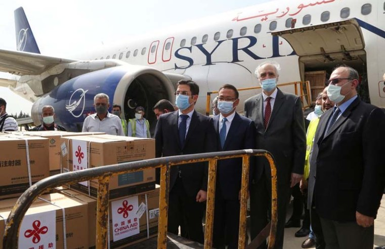 Syria gets donation of 150,000 COVID shots from China