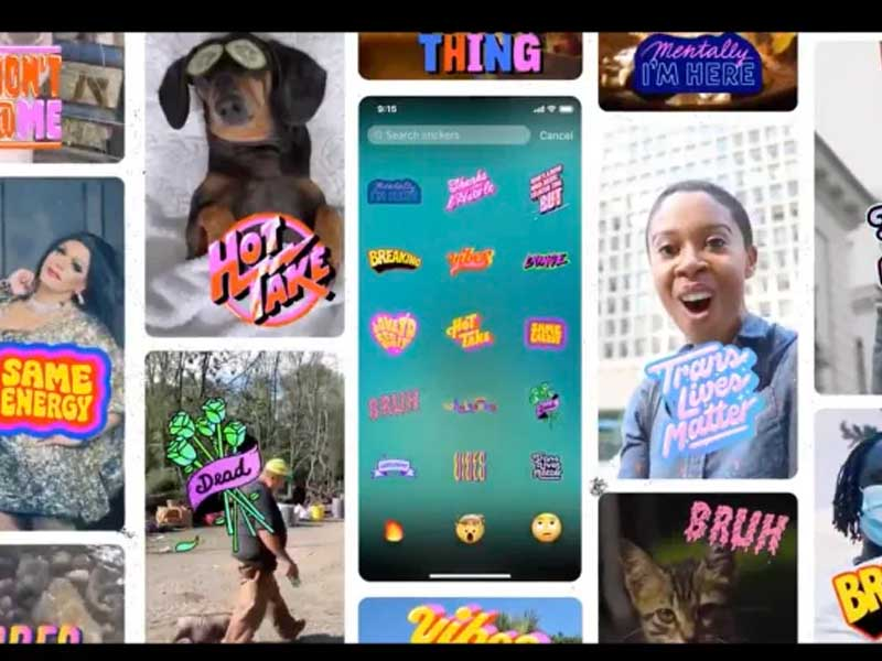 Now Twitter lets you add stickers and GIFs to fleets