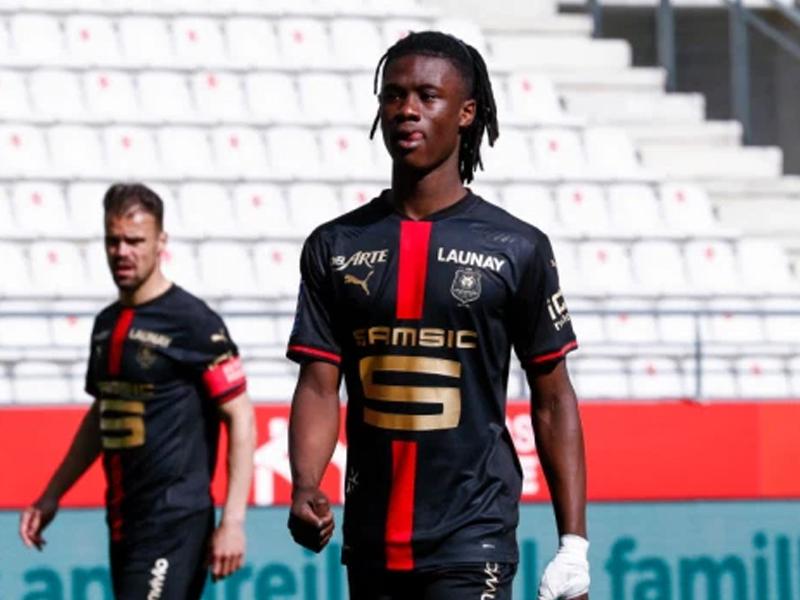 Arsenal identify Rennes star Eduardo Camavinga as their 'priority' summer transfer target