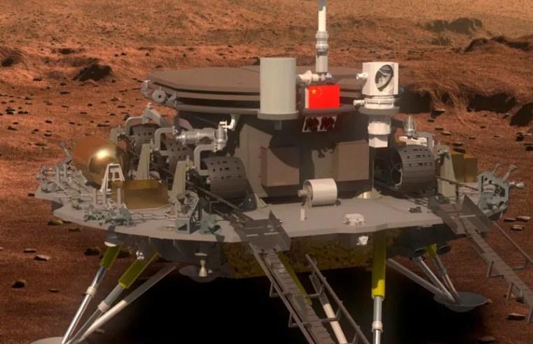 NASA congratulates China on successful landing of spacecraft on Mars