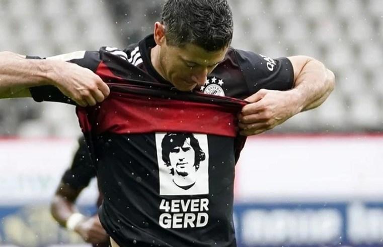 European wrap: Lewandowski levels Muller's record