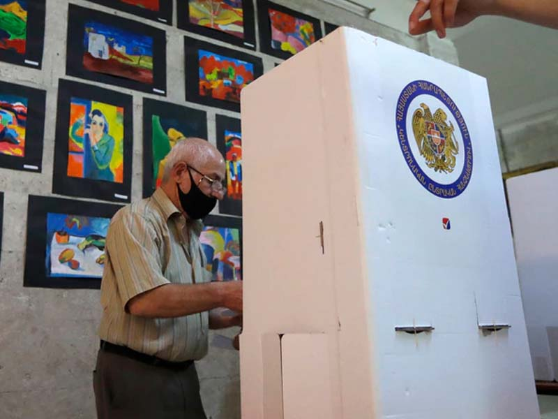 Armenia Holding Early Parliamentary Elections After War with Azerbaijan