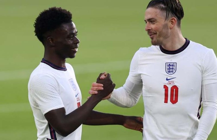 Bukayo Saka waxes lyrical about what Jack Grealish and Ben Chilwell did in England training