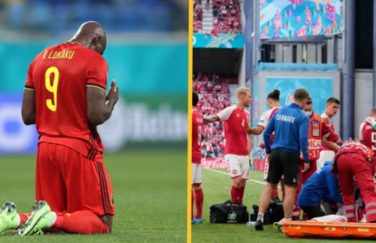 Romelu Lukaku pays tribute to Christian Eriksen in emotional post