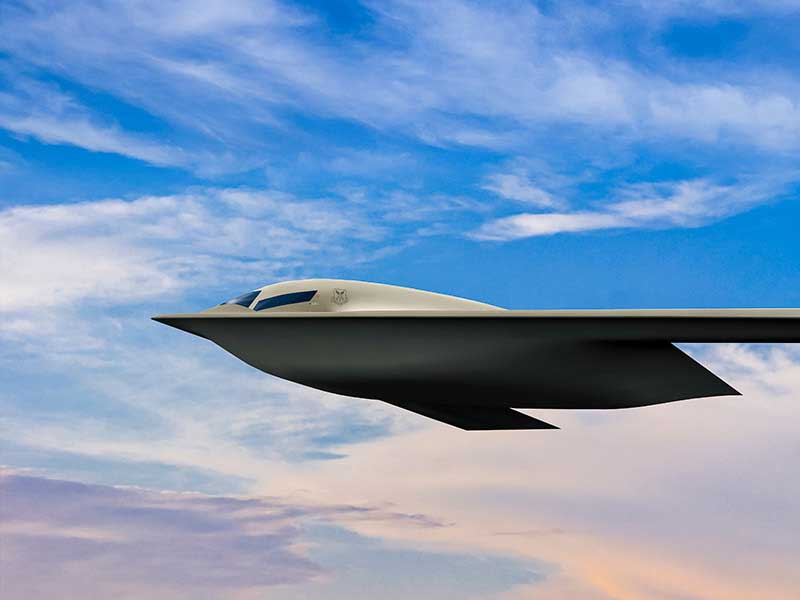 US Air Force Releases New Image of B-21 Raider Stealth Bomber