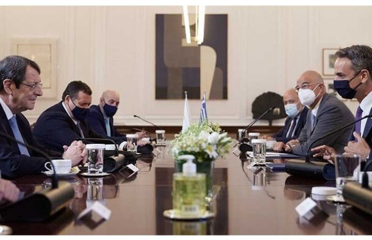 Greek PM, Cyprus President to further coordinate joint actions against new demands by Turkey