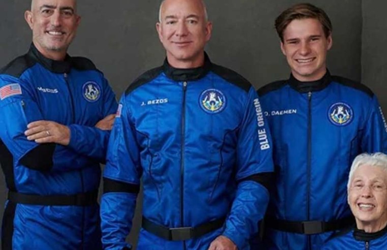 Jeff Bezos to ride own rocket on his Space travel company's 1st flight