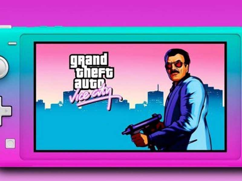 Grand Theft Auto Vice City Unofficial Nintendo Switch Port Released