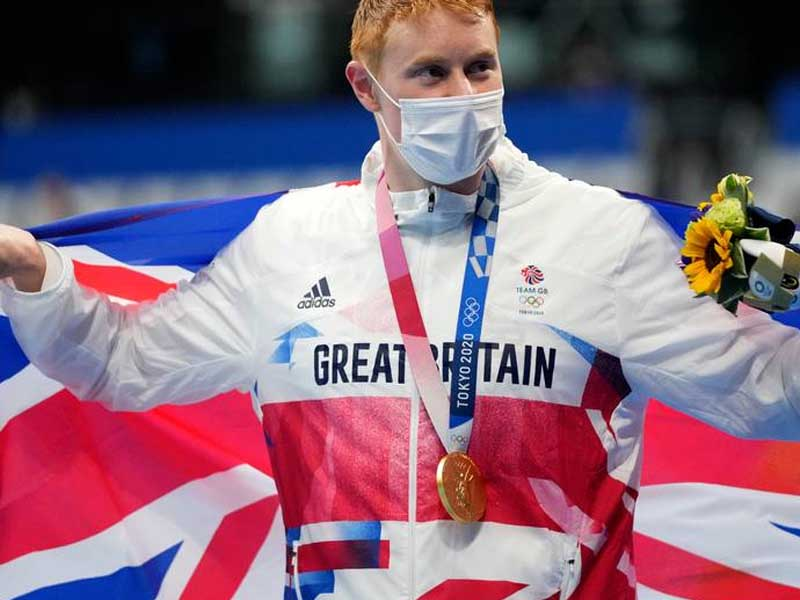 Brit swimmer Dean beats COVID twice to win gold at Olympics