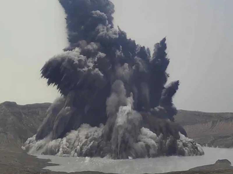 Philippine Volcano Belches Dark Plume; Villagers Evacuated
