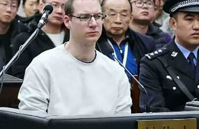 China upholds death sentence for Canadian in drug smuggling case