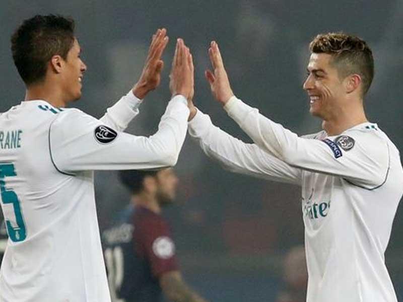 Cristiano Ronaldo's telling response to Raphael Varane's Man Utd arrival