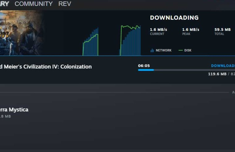Steam's latest update improves the management of downloads