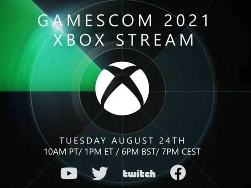 Gamescom 2021 Xbox Stream Announced