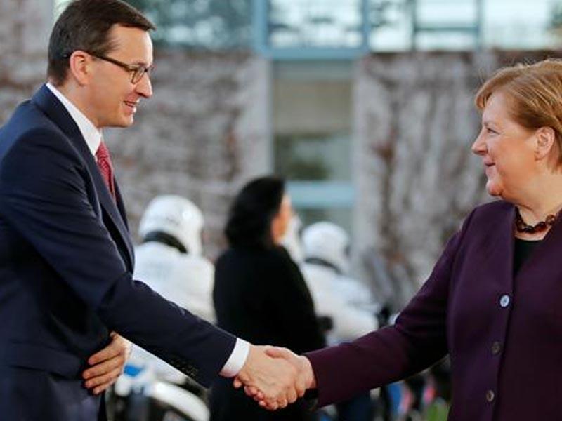 Merkel making last visit to Warsaw as Germany's chancellor