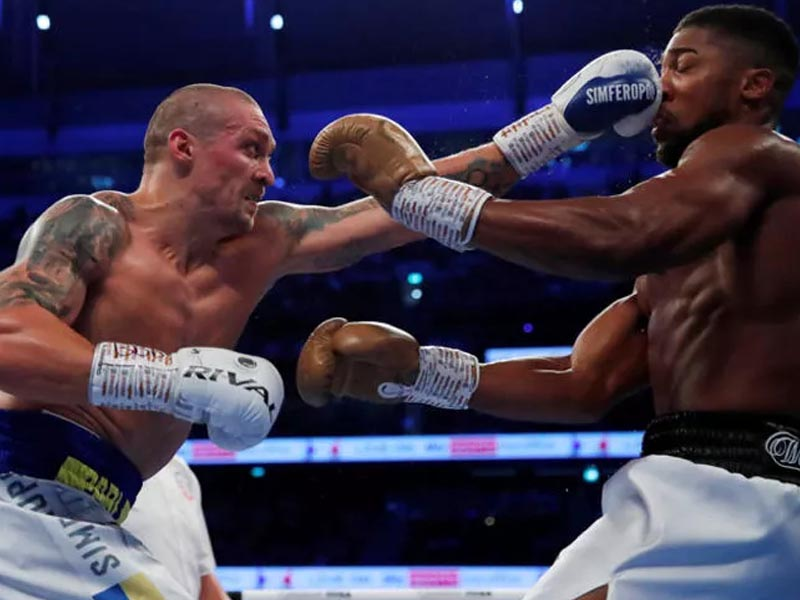 Usyk ends Joshua's reign as champion