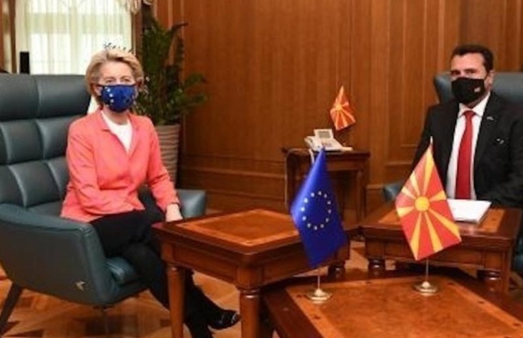 European Commission president to push for EU negotiations with Albania and North Macedonia by year-end