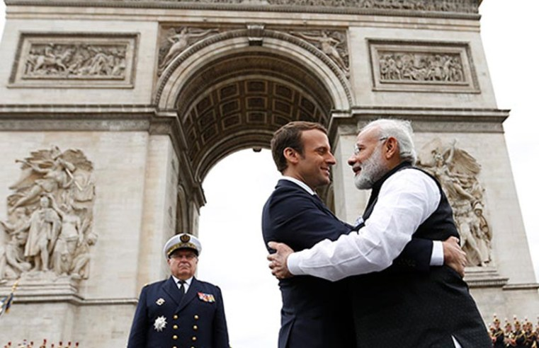 France, India agree to defend 'truly multilateral international order'