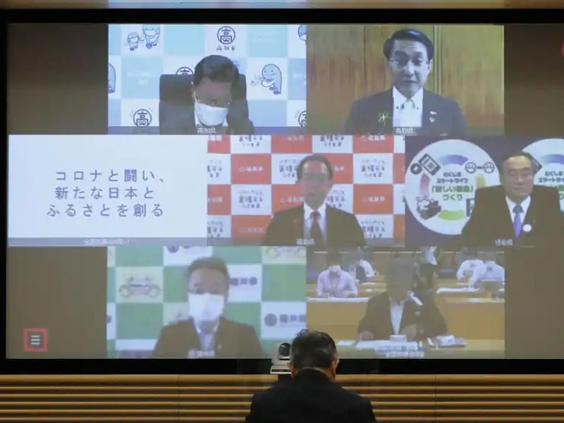 Japan governors seek stronger heath care as COVID curbs eased