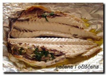 pečena riba