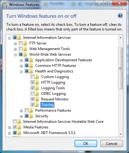install-iis7-health-and-diagnostic-tools-and-features