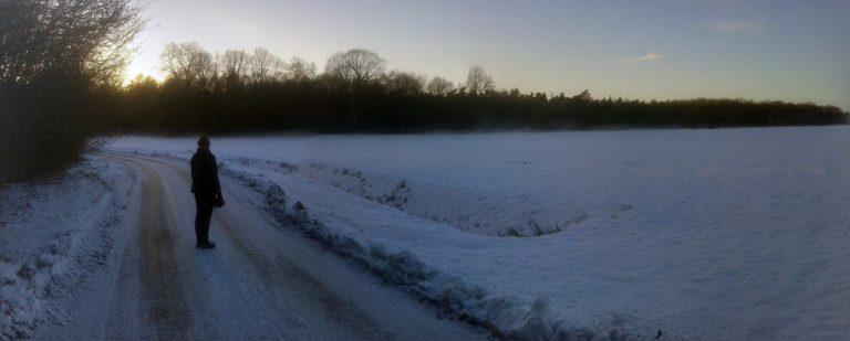 Sneeuw omgeving Beuningen