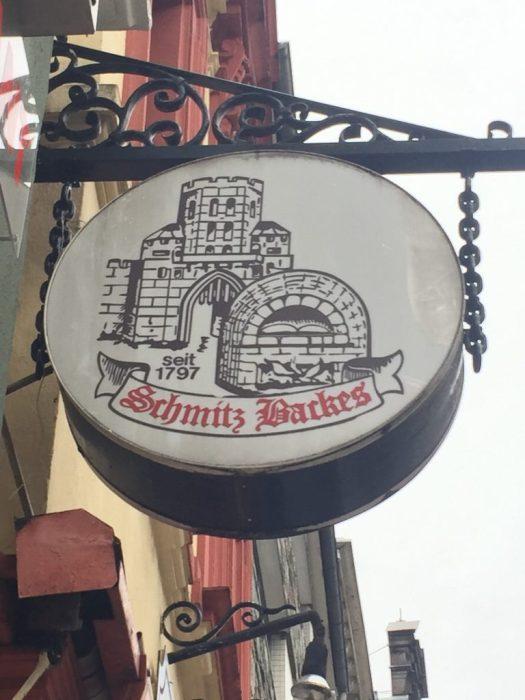Schmitz-Backes auf der Severinsstraße, Bild: Uli Kievernagel